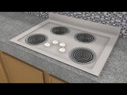 how it works electric stove top
