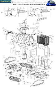aquabot xtreme parts pool cleaner parts poolzoom aqua products aqua products aquabot xtreme cleaner parts 1on diagram