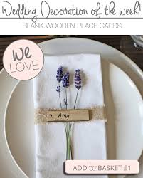 wooden place cards rustic wedding ideas