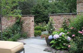 patio ideas medium size low brick wall landscape traditional with garden stakes small patio designs yard