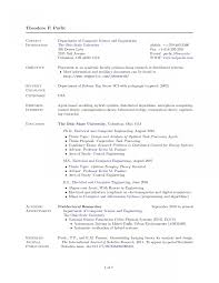 Delighted Best Engineering Resume Template Contemporary Entry