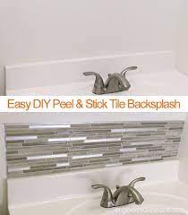 Small Bathroom Remodel Easy Diy Tile Backsplash Engineer Your Space Small Bathroom Diy Bathroom Remodel Small Diy Smart Tiles