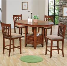 counter height dining table set. Crown Mark Empire Counter Height Dining Table And Chair Set - Item Number: 2185-