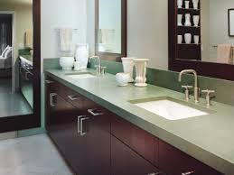 white bathroom with green soapstone countertop