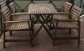 Tavolo Da Terrazzo In Legno : Mobili da giardino ikea divani a leroy merlin le