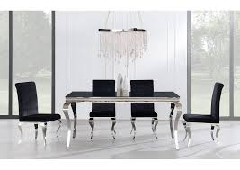 Glass top dining sets Seater Glass Black Glasstop Dining Table W4 Dining Chairsglobal Furniture Usa Furniture House Dover Nj Furniture House Dover Nj Black Glasstop Dining Table W4 Dining