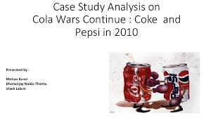 cola wars coke vs pepsi harvard business school case study