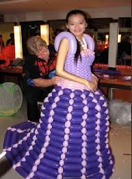 purple balloon style wedding dress design wedding dress