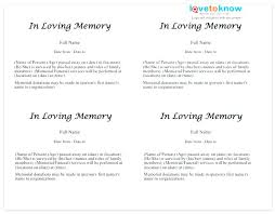 Printable Basic Template Sample Death Notice Email Obituary