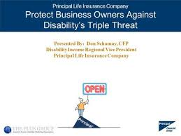 Having insurance can serve a number of uses, depending on the type of policy you are insured under and the reasons for which you require. Principal Life Insurance Company Disability Buy Out Insurance Ppt Download
