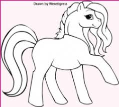 Small Picture Who doesnt love My Little Pony coloring pages This is a growing