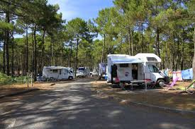 Small Car Camper Accommodation Camping Ocean Carcans