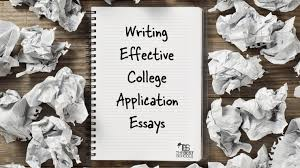 writing effective college application essays the best schools the savvy student s guide to college education chapter four