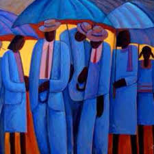 a symphony of color the al paintings of joseph holston summer shower