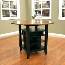 kitchen table storage dining table with storage kitchen table with storage underneath for round dining table