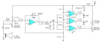 Sound Level Decibel Meter Circuit Home Elektron