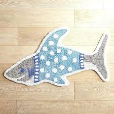 fish bath rugs shark in shirt bath rug starfish bathroom rugs