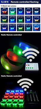 Radio Controlled Led Lights 2018 New Football Team Silicon Led Lights Rfid Radio