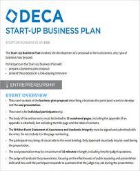 Startup Business Plan Sample Sample Startup Business Plan 12 Examples In Word Pdf
