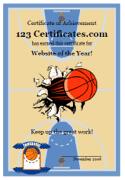 Free Printable Basketball Certificate Templates Basketball Award