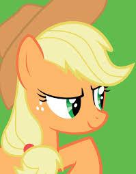 applejack. my little pony applejack e