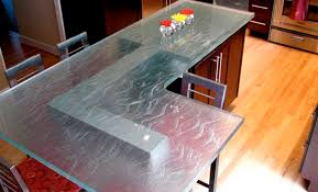 glass countertop kitchen city slick
