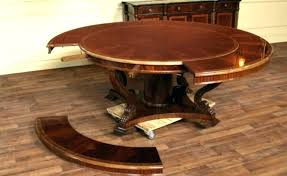 expanding round dining table stunning circular extendable plans solid wood extending uk expan expanding round dining table