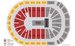 Gwinnett Center Seating Chart Seat Numbers Prudential Center Concert Online Charts Collection