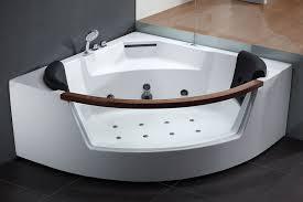 amazing corner whirlpool tub eago am197 5 rounded clear contemporary corner whirlpool bath tub