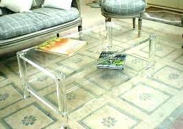 round acrylic coffee table acrylic coffee table clear pertaining to plan acrylic coffee table tray