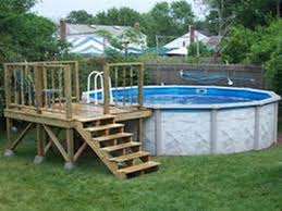 above ground pool deck plans design ideas free pool deck plans online e87