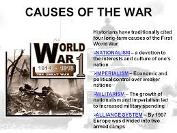 the first world war causes of the war historians have  the first world war 1914 1918 2 causes