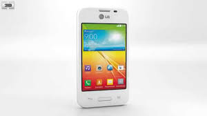 LG L35 White 3D model - Electronics on ...