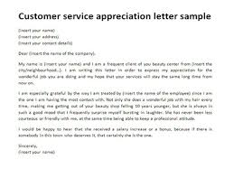 Customer Service Appreciation Letter Customer Thank You Letter