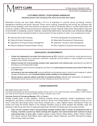 Success Resumes Narrative Resumes Examples Resume Examples Resume Template