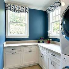 white and blue laundry room with trellis roman shades colors 2017 full size on wall color ideas for laundry room with decoration laundry room color