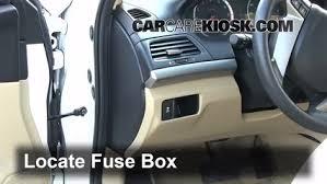 interior fuse box location 2008 2012 honda accord 2010 honda Honda Accord Fuse Box Location locate interior fuse box and remove cover 2006 honda accord fuse box location