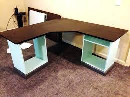 office diy wood corner desk plans