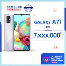 Điện Thoại Samsung Galaxy A71 128GB (8GB RAM) - Màn hình tràn viền vô cực  6.7 inch SuperAmold Full HD + Bộ 4 CAMERA SAU 64MP + Dung lượng Pin ấn tượng