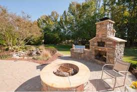 patio with fire pit and grill. Contemporary Fire Firepit With Outdoor Kitchen And Fireplace On Patio With Fire Pit And Grill O