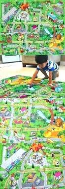 train track rug train track rug single sided baby play mat developing rug puzzle mats children train track rug
