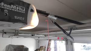 lift master garage door opener not closing force control adjustment regarding garage door opener not closing
