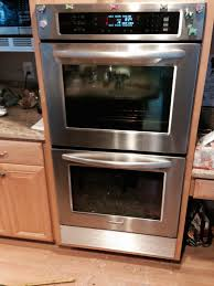 kitchenaid superba microwave brilliant kitchen double oven provides consistent heating for 12
