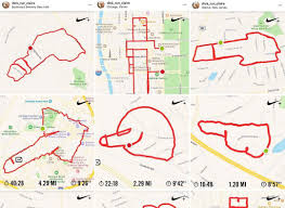 Meet The Woman Drawing Gps Dicks On Her Run Citius Mag