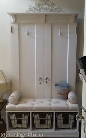 Front Door Coat Rack Awesome My Cottage Charm Mudroom Coat Rack Bench