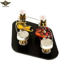 pre wired vintage jp electronics upgrade kit long shaft