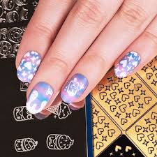 Bundle Monster- Kawaii Collections Nail Art Stencils | Nail Art UK