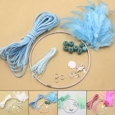 details about crochet diy dream catcher kit decoration wall ornament craft gift accessory fun
