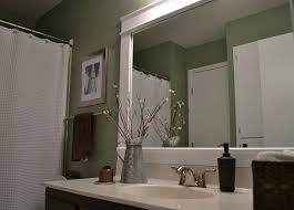 framed bathroom mirrors diy. Contemporary Mirrors Bathroom Mirror Frame In Framed Mirrors Diy R