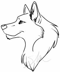 simple wolf drawing. Modren Drawing Easy Wolf Drawing  ClipArt Best  Idei Pentru Acas Pinterest Drawings  Drawings And Cool Inside Simple O